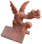 Chinese roof dragon finial