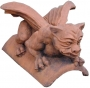 Gargoyle roof finial ridge