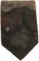 Clay arrowhead plain tile
