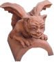 Gargoyle architectual ridge tile