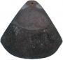 Clay bonnet tile