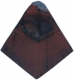 Clay diamond bonnet tile