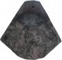 Clay pink bonnet tile